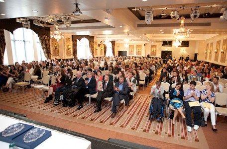 Graduation Ceremony in Clontarf Castle May 2014