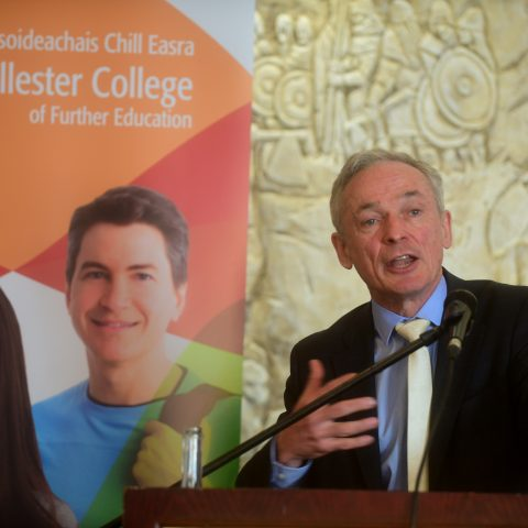 Minister for Education Richard Bruton at KCFE Grad. in Clontarf Castle!