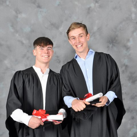 Adam Boyle and Ethan Bannon (Animal Sc) now studying Ag. Sc. in UCD